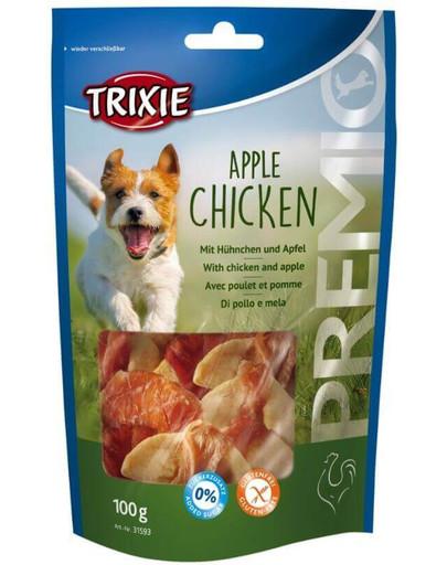 Snacki premio jabłko z kurczakiem 100 g