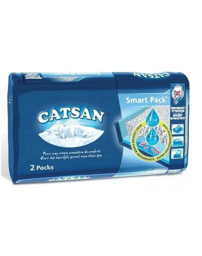 Smart Pack Mata ze żwirkiem do kuwety 2 x 4l