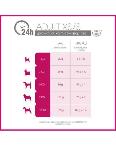 Adult (1+ lat) Bogaty w Kurczaka dla psów ras małych 5 x 825g