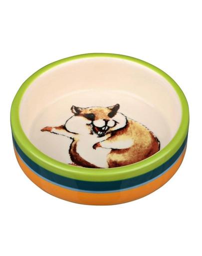 Miska ceramiczna dla chomika 80ml