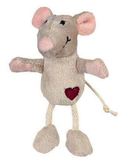 Mysz Pluszowa, Beżowa, 11 cm