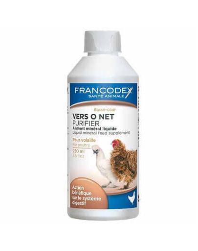 Vers O Net Preparat Mineralny Dla Drobiu Wspomagający Układ Trawienny 250 ml
