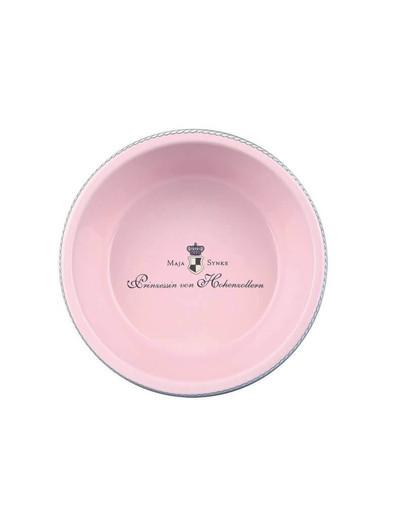 Miska ceramiczna dla psa 180 ml / 12 cm różowa