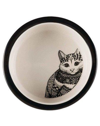 Miska Ceramiczna Zentangle 0.3 l/12 cm