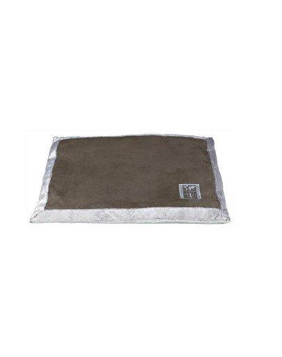 Poduszka best of all breeds 60 x 50 cm brązowo- beżowa
