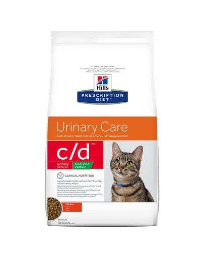 Prescription Diet Feline c/d Stress Reduced Calorie Chicken 4 kg