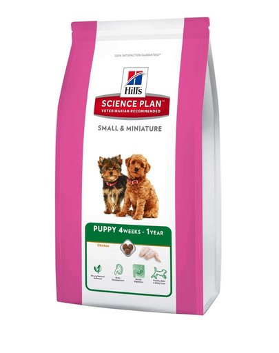 Science Plan Canine Puppy Small & Mini Chicken 1,5 kg