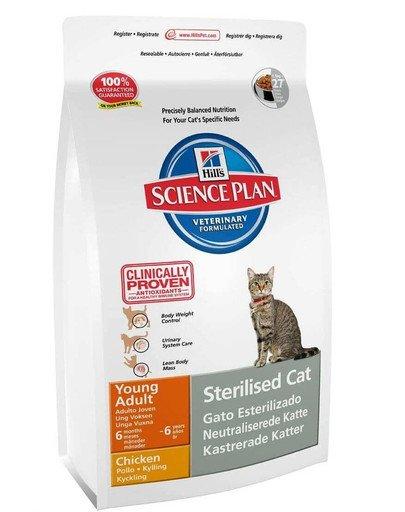 Science Plan Feline Young Adult Sterilised Cat Tuna 1,5 kg