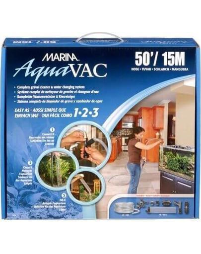 Urządzenie do wymiany wody/odmulacz AquaVac z wężem 7.6m