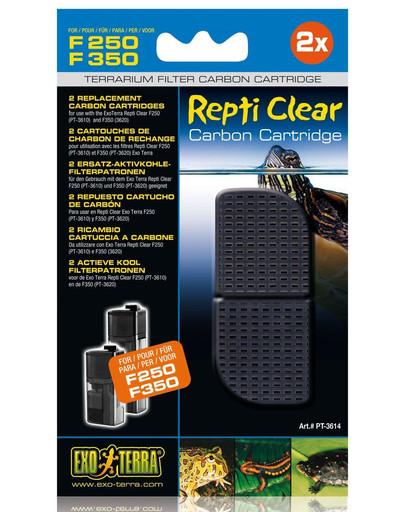 Wkłady węglowe do filtra wewnętrznego Repti Clear F250