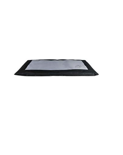 Koc drago 150 x 100 cm czarno-szary
