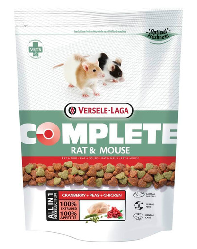 Rat & mouse complete 500 g
