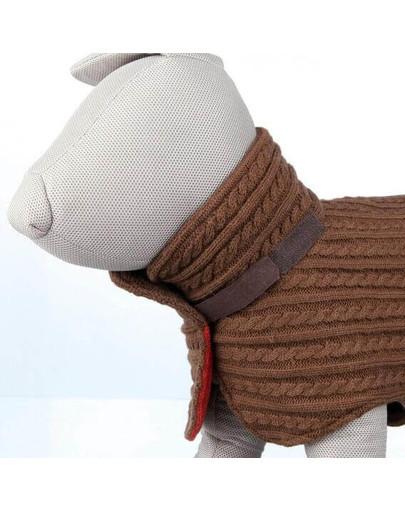 Sweterek tropea s 35 cm brąz