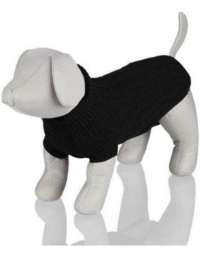 Sweterek dla psa king dog m 45 cm czarny