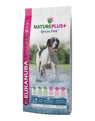 Nature Plus+ Adult Grain Free Salmon 10 kg