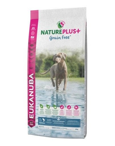 Nature Plus+ Puppy Grain Free Salmon 10 kg