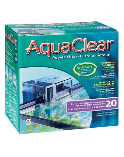 Filtr kaskadowy AquaClear 20 Powerfilter 6W