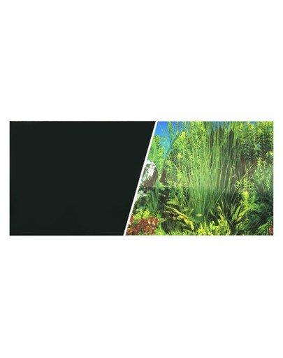 Dwustronne tło do akwarium Aquarium Czarne 30cmx7.5m