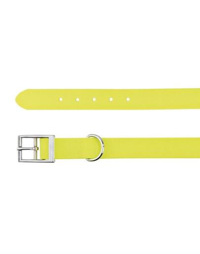 Obroża Easy Life, S–M: 30–45 cm/20 mm, Neonowy Żółty