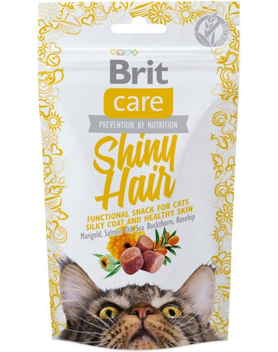 Care Cat Snack Shiny Hair 50g