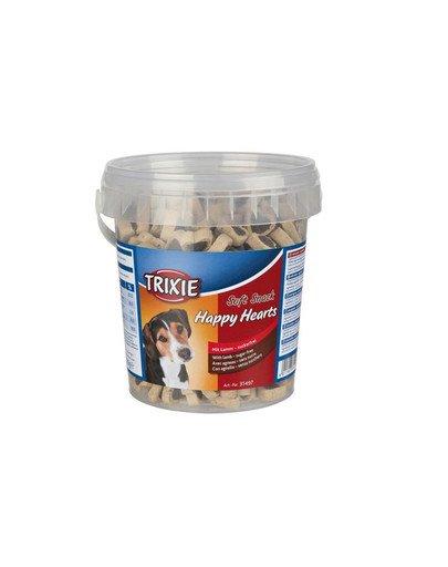 Miękkie przekąski dla psa happy hearts 500 g