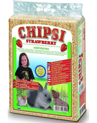 Chipsi Strawberry - trociny truskawkowe 60 l
