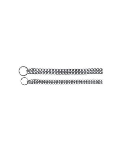 Łańcuszek metal dwurzędowy 50 cm / 2.5 mm