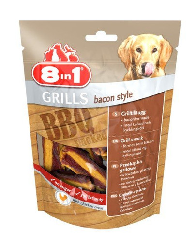Przysmak grills bacon style 80 g