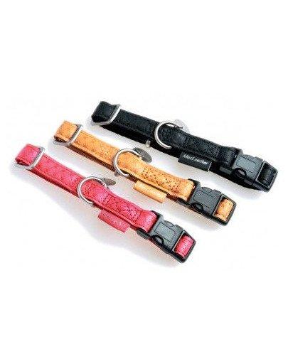Obroża Regulowana Mac Leather 10mm - Kol. Czerwony