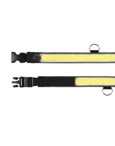 Obroża świecąca S-M 30-40cm/35mm