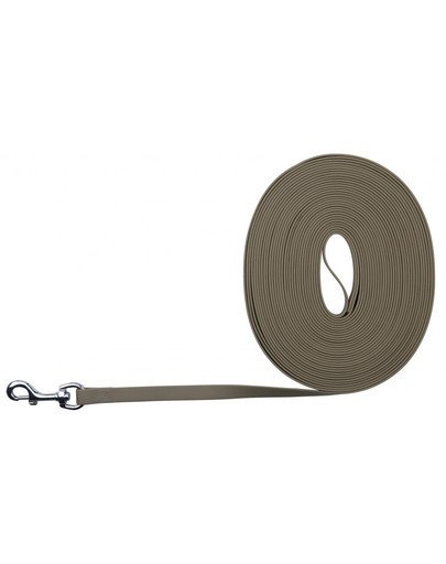 Easy Life Tracking Leash, 10 M/17 mm, Taupe