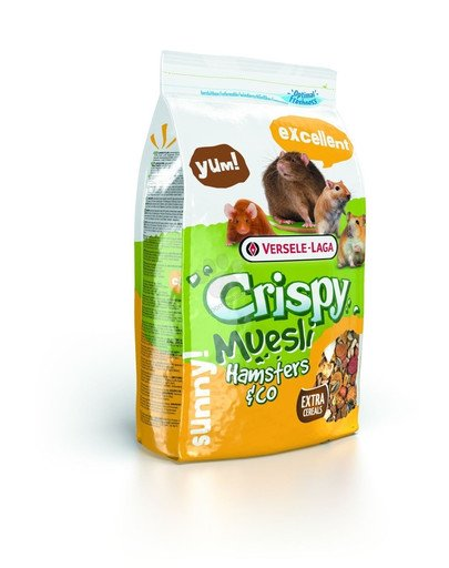 Prestige 1 kg crispy muesli - hamster