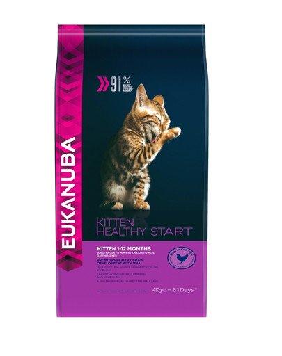 Cat Kitten All Breeds Healthy Start Chicken & Liver 4 kg