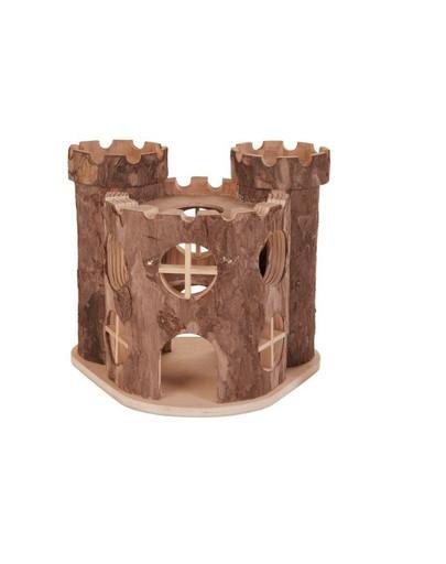 Zamek drewniany 15 x 11 x 14 cm