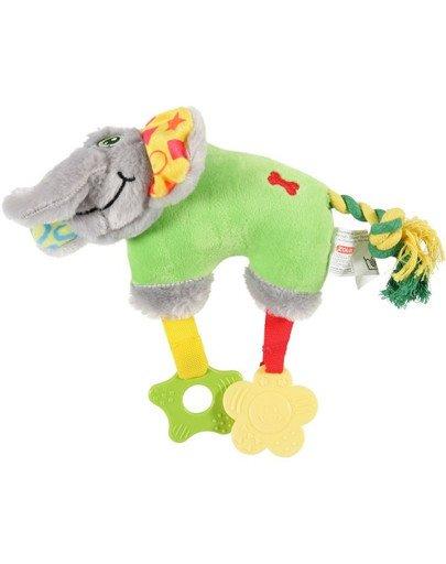 Zabawka Pluszowa Puppy Słoń Zielona