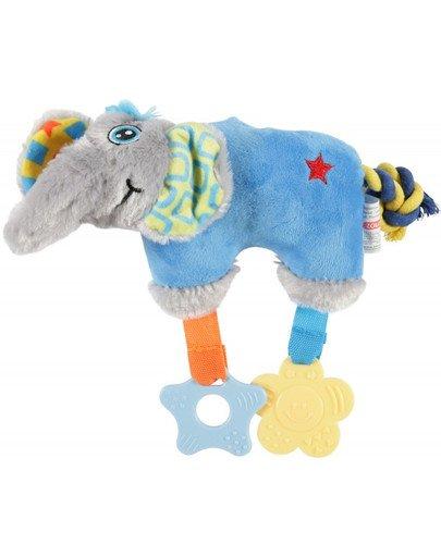 Zabawka Pluszowa Puppy Słoń Niebieska