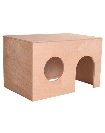 Domek dla świnki morskiej. mały. 24 x 15 x 15 cm