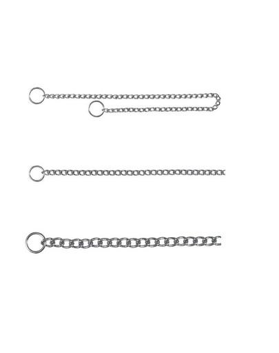 Łańcuszek metalowy 35 cm / 2 mm jednorzędowy