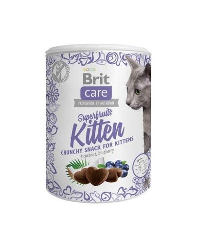 Care Cat Snack Superfruits Kitten 100g