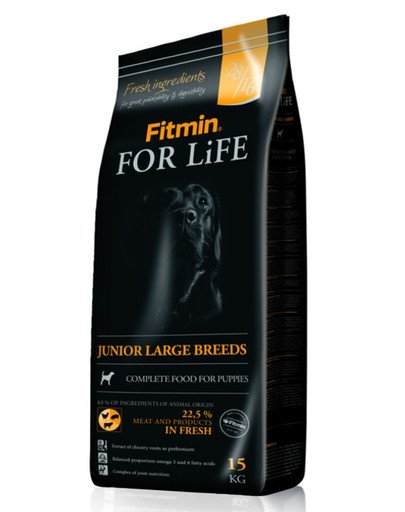 Dog for life junior large br.15 kg