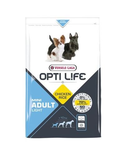 Adult Light Mini dla otyłych psów ras małych i miniaturowych Drób 2,5 kg