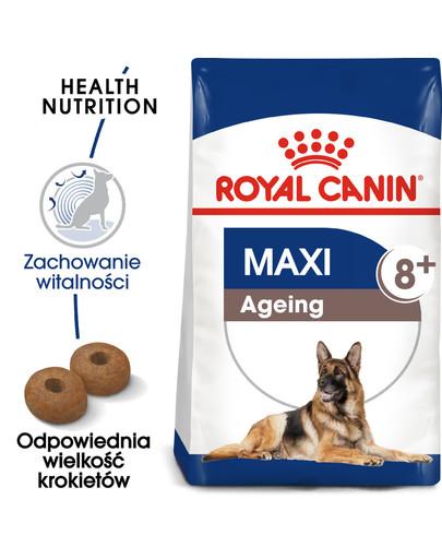 Maxi Ageing 8+ 3 kg karma sucha dla psów dojrzałych, po 8 roku życia, ras dużych