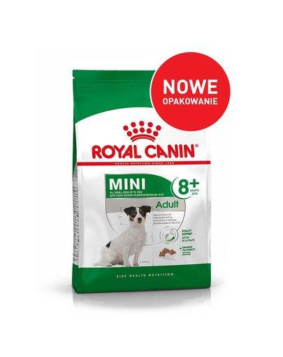 Mini Adult 8+ 800 g karma sucha dla psów starszych od 8 do 12 roku życia, ras małych