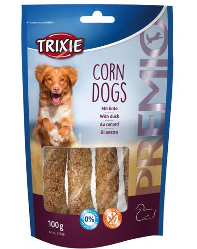 Przysmak PREMIO Corn Dogs (kaczka i skóra surowa) 100g