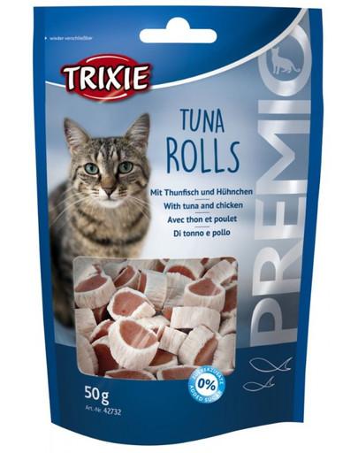 PREMIO Tuna Rolls, 50 g
