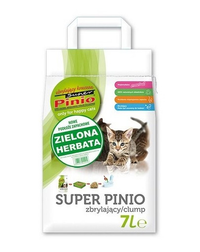 Super Pinio zbrylający kruszon zielona herbata 7 l