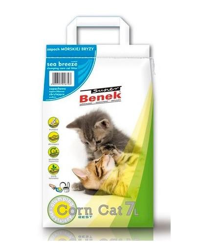 Super Corn Cat morska bryza 7 l