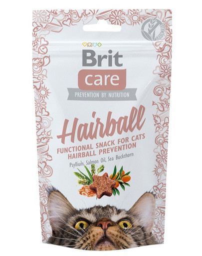 Care Cat Snack Hairball 50g