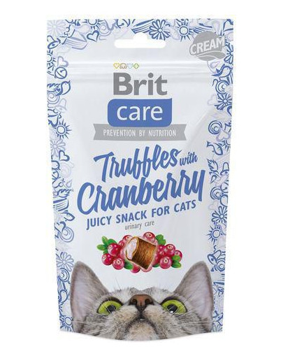 Care Cat Snack Truffles Cranberry 50g