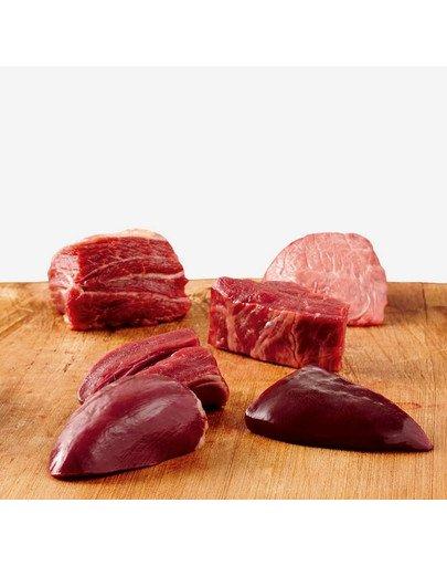Grancarno puszka 0.4 kg junior wołowina / serca indycze